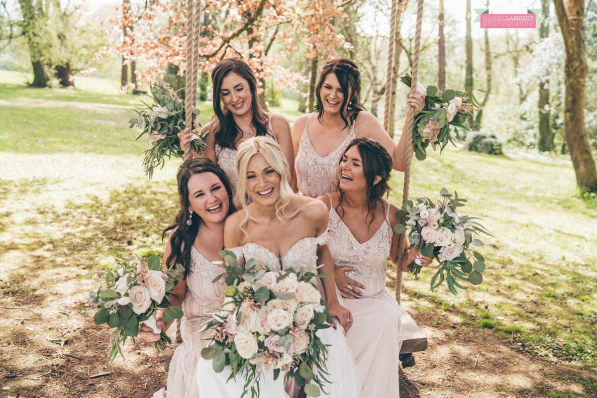 fairyhill gower rachel lambert photography bride and bridesmaids