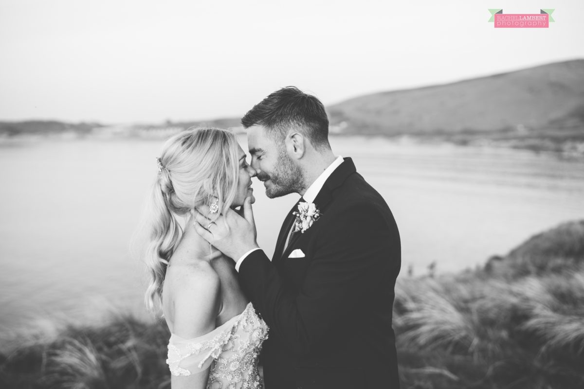 Fairyhill cardiff wedding photographer broughton bay bride and groom