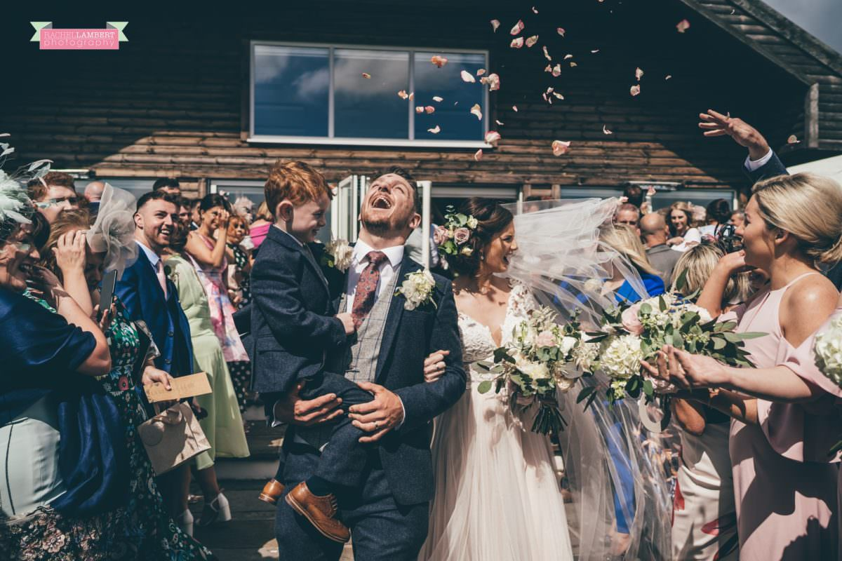 cardiff wedding photographer llanerch vineyard confetti