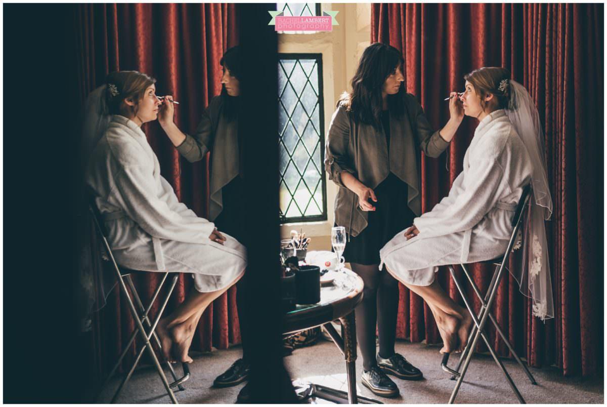 cardiff wedding photographer miskin manor rachel lambert photography bridal prep charlotte joy makeup