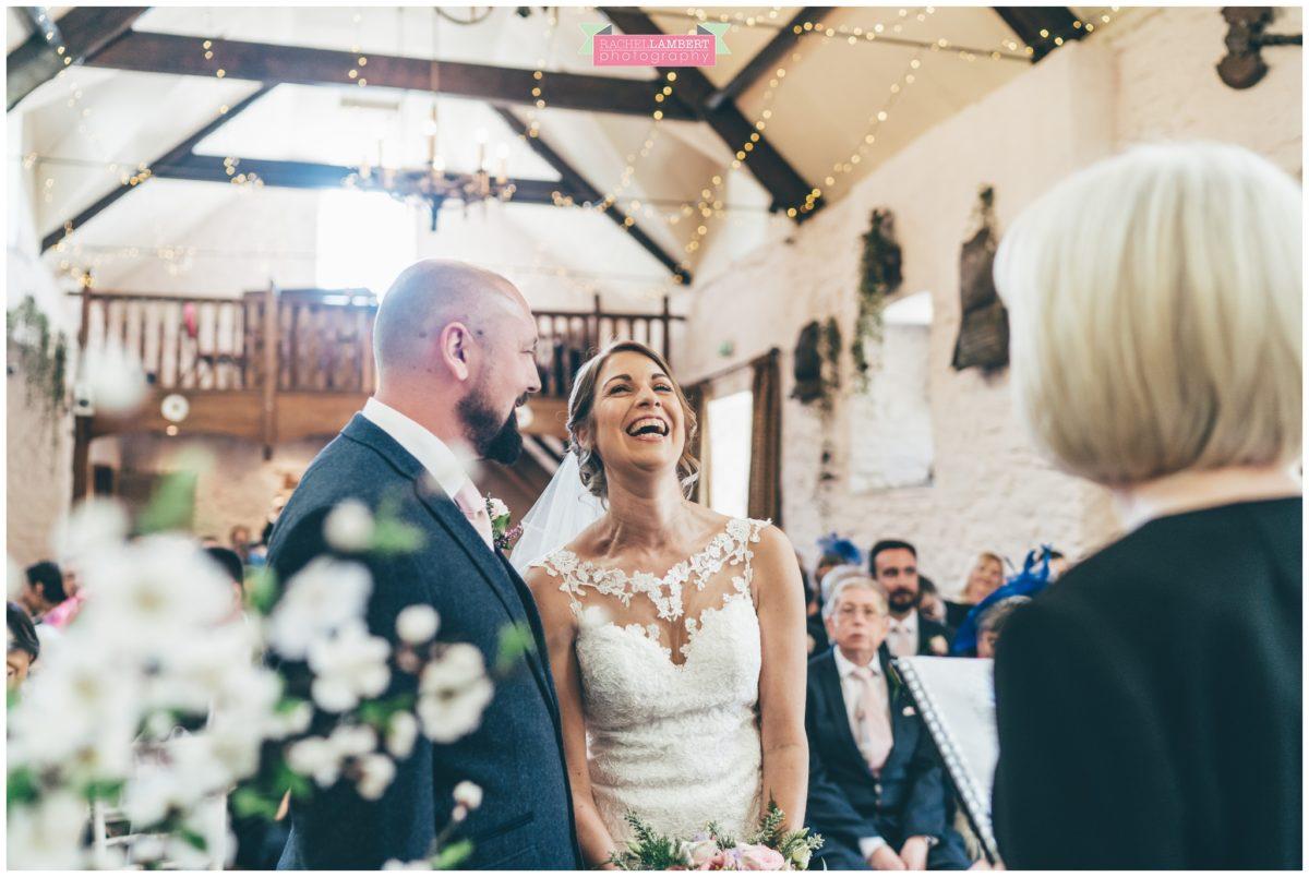 cardiff wedding photographer miskin manor rachel lambert photography bride and groom ceremony