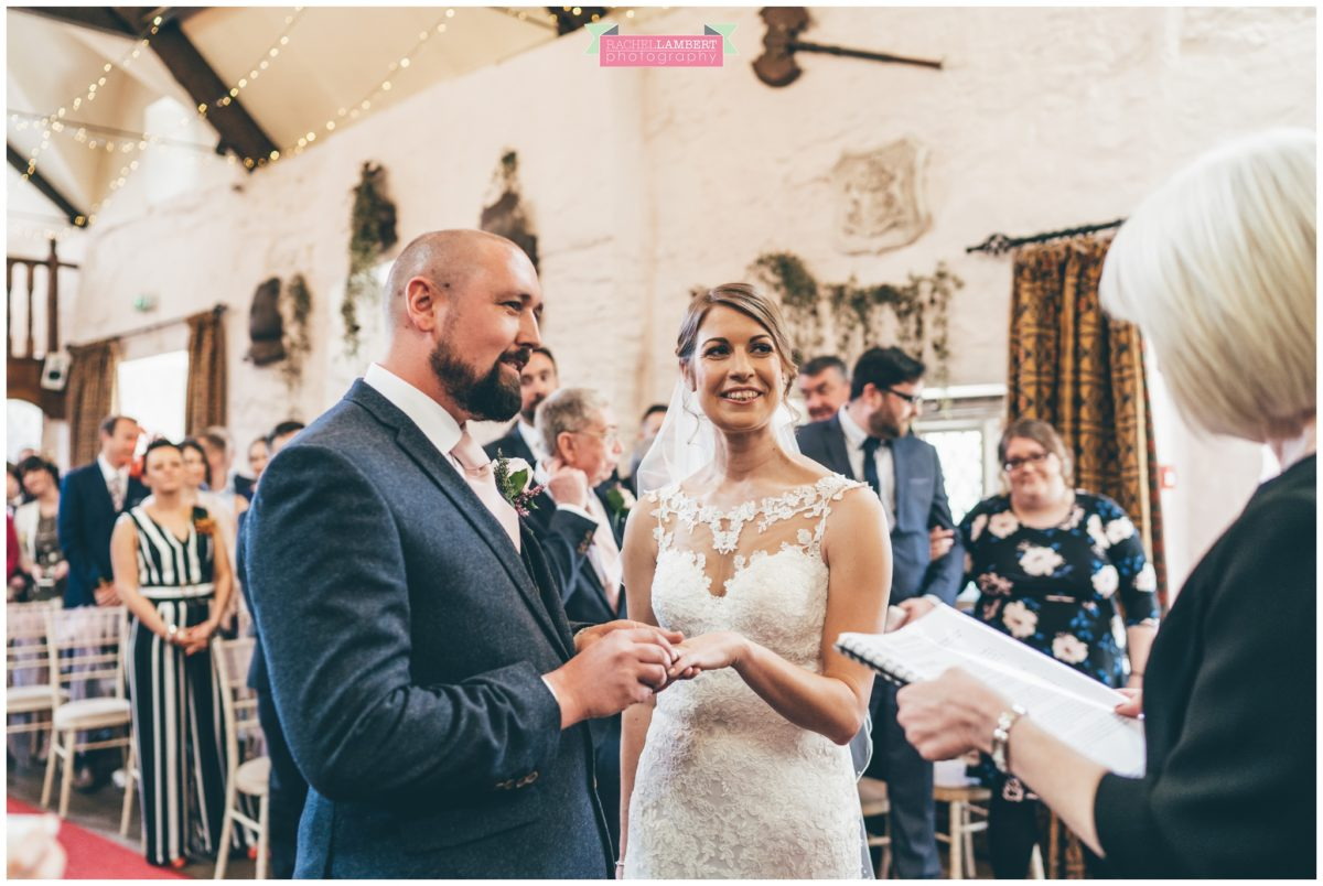cardiff wedding photographer miskin manor rachel lambert photography bride and groom rings