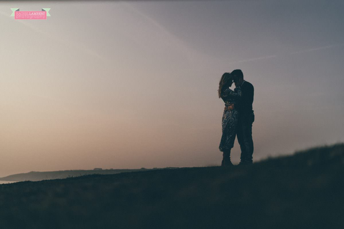 Together Shoot Cardiff Wedding Photographer golden hour
