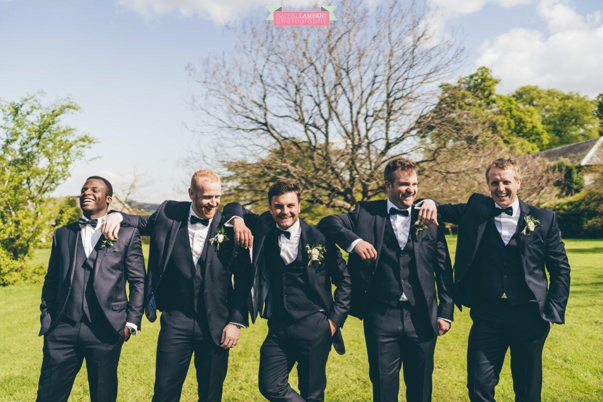 glanusk esate wedding rachel lambert photography groomsmen