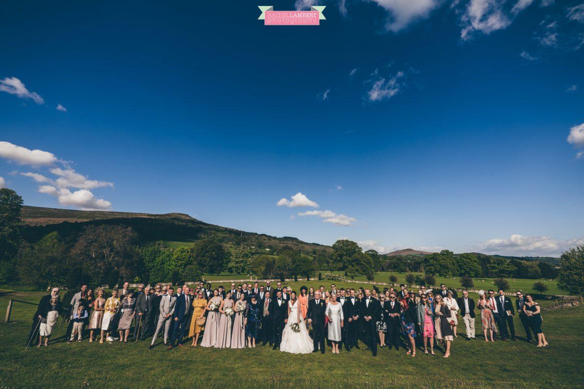 glanusk estate wedding rachel lambert photography group shot