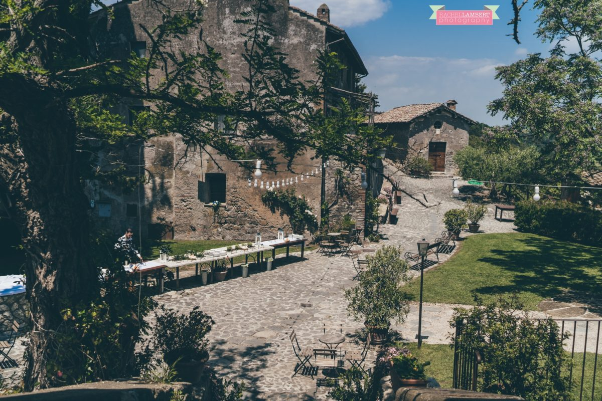 rachel lambert photography destination wedding photographer Borgo di Tragliata rome italy