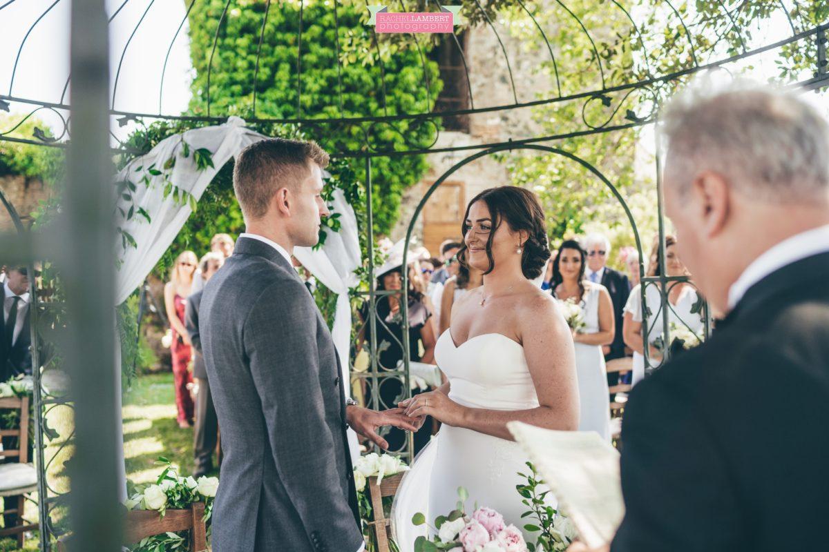 rachel lambert photography destination wedding photographer Borgo di Tragliata rome italy ceremony
