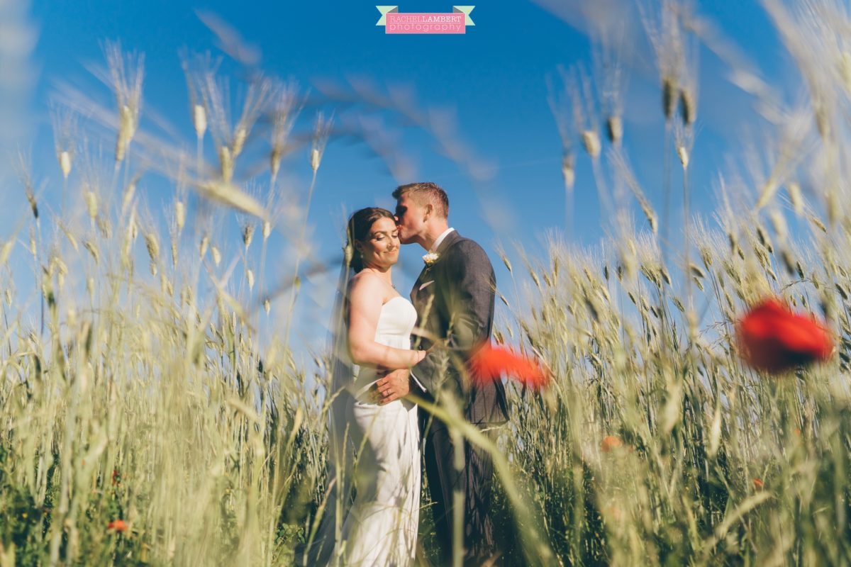 rachel lambert photography destination wedding photographer Borgo di Tragliata rome italy bride and groom couple shots wheat fields