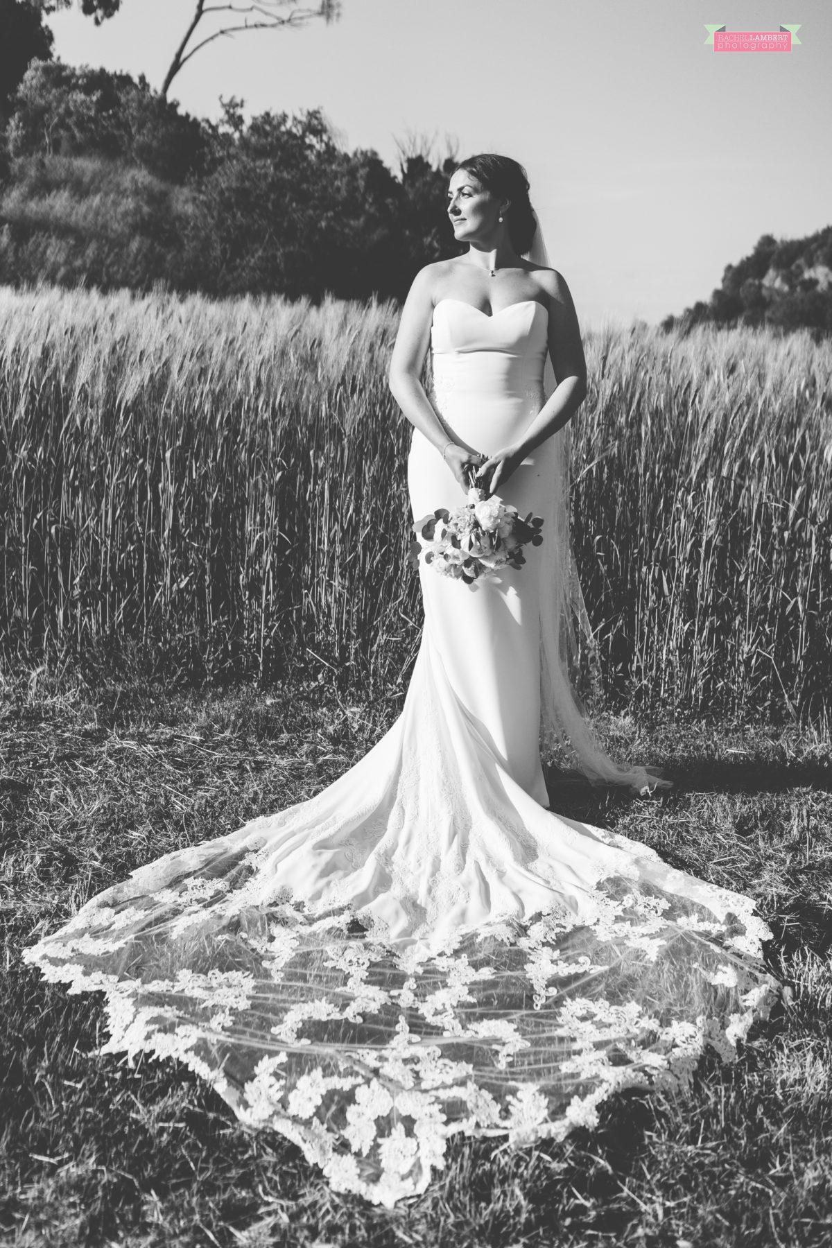 rachel lambert photography destination wedding photographer Borgo di Tragliata rome italy bride black and white
