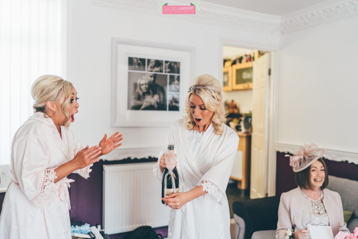 rachel lambert photography decourcey's manor wedding photographer bride prep