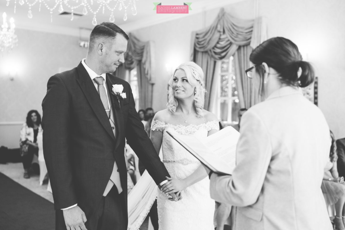 rachel lambert photography decourcey's manor wedding photographer bride and groom