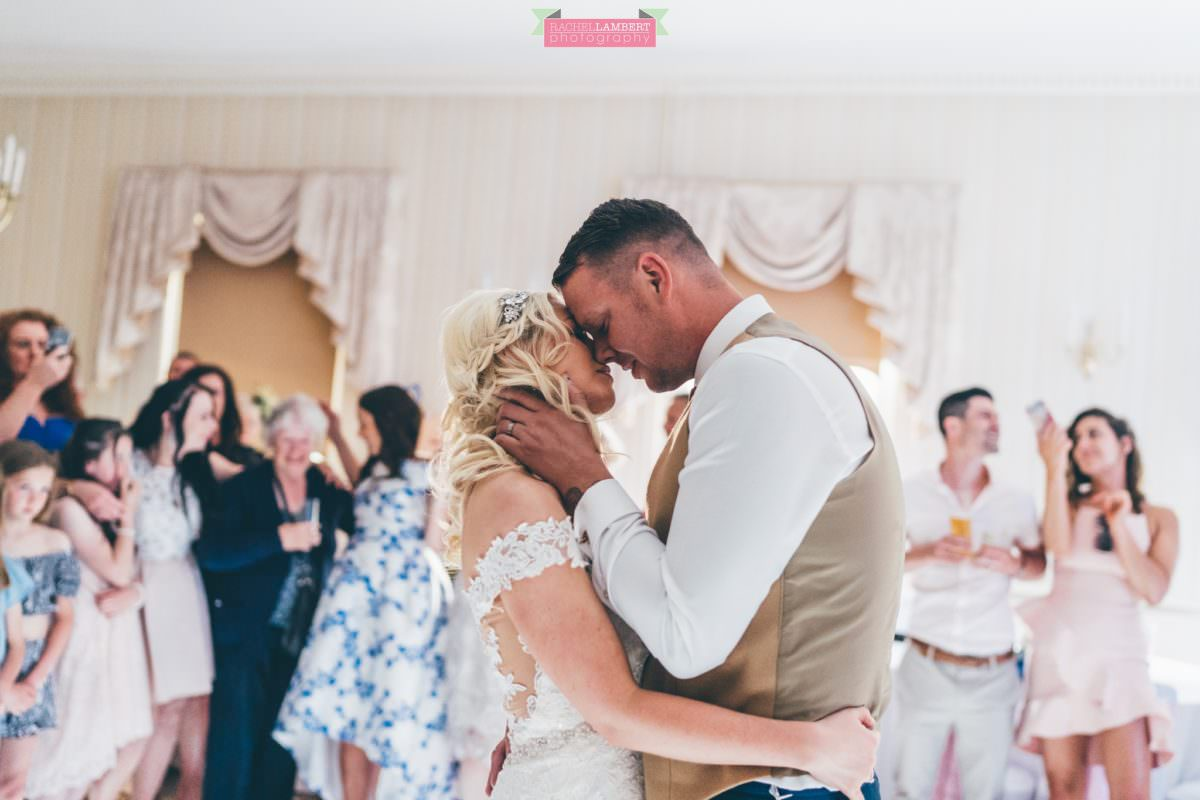 decourcey's manor wedding photographer rachel lambert photography first dance bride and groom