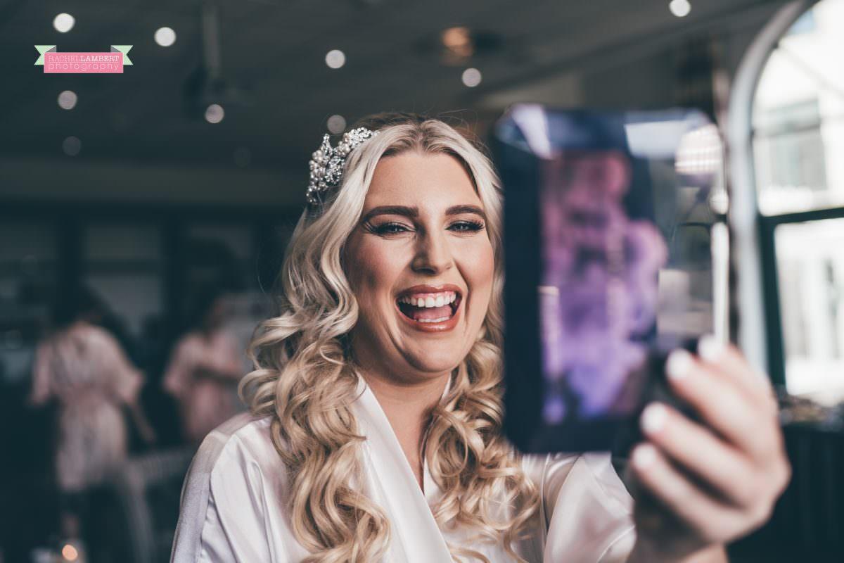 hensol caslte weddings rachel lambert photography bridal prep