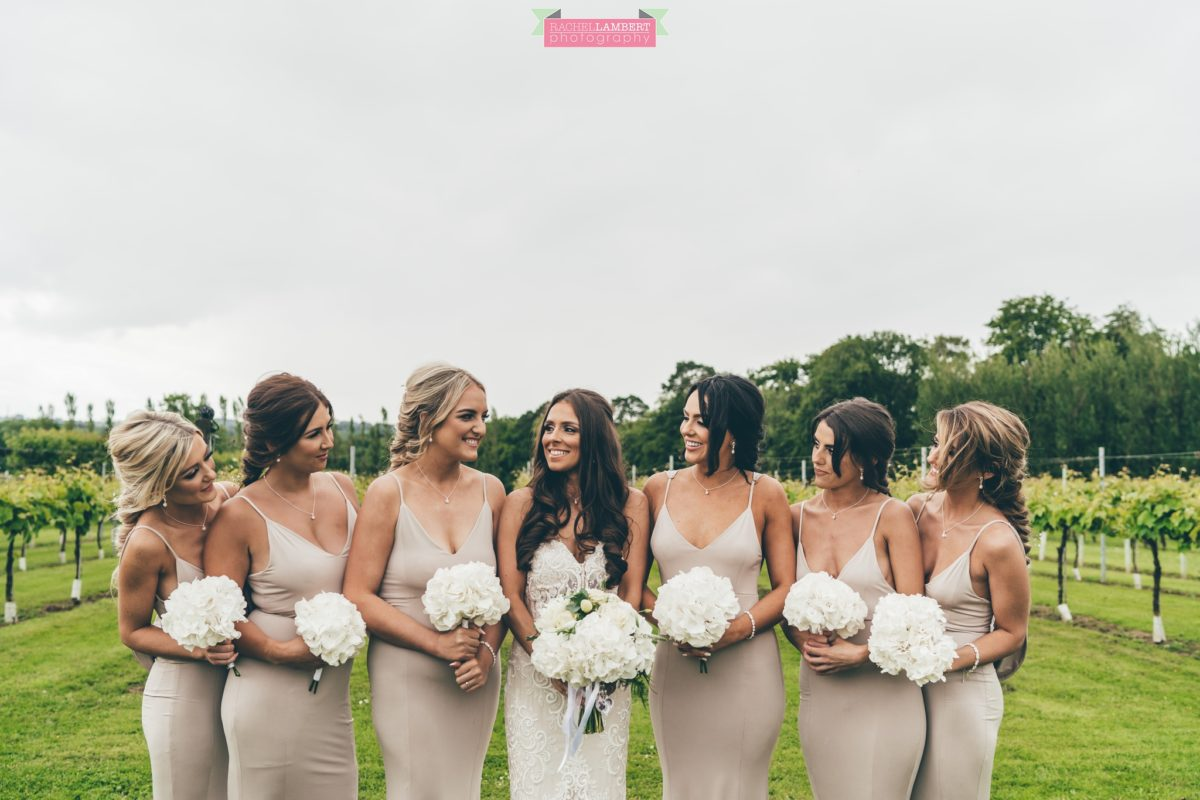 Cardiff Wedding Photographer Llanerch Vineyard rachel lambert photography bridesmaids