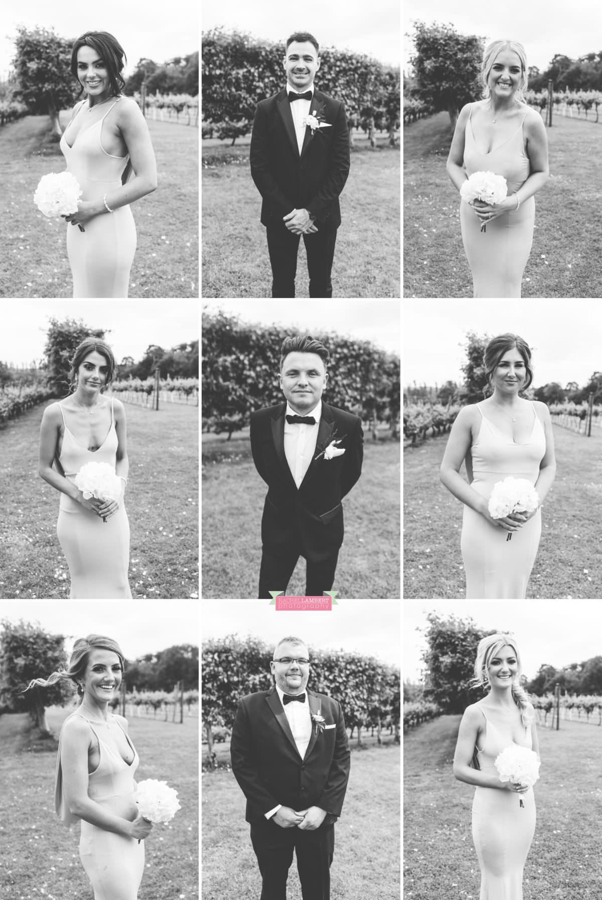 Cardiff Wedding Photographer Llanerch Vineyard rachel lambert photography bridal party