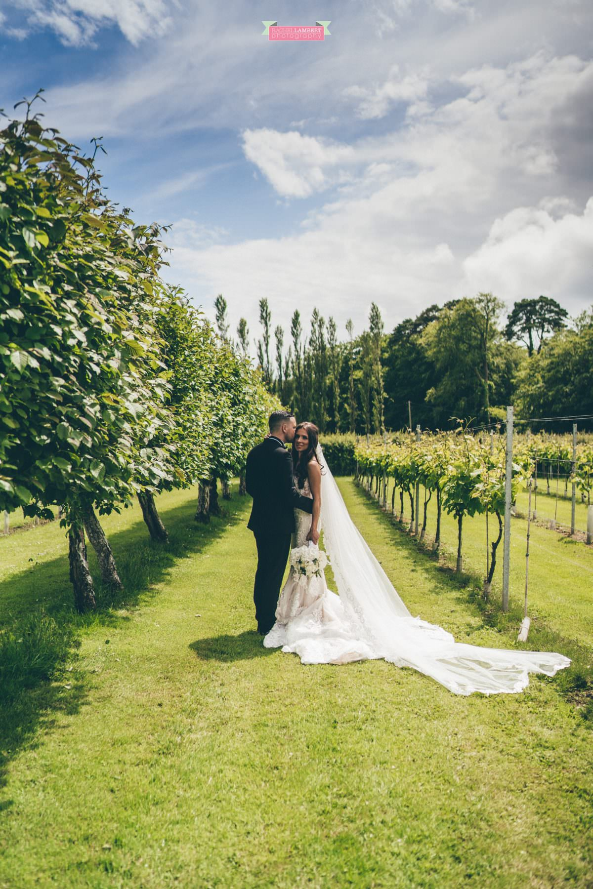 Cardiff Wedding Photographer Llanerch Vineyard rachel lambert photography bride and groom couple shots