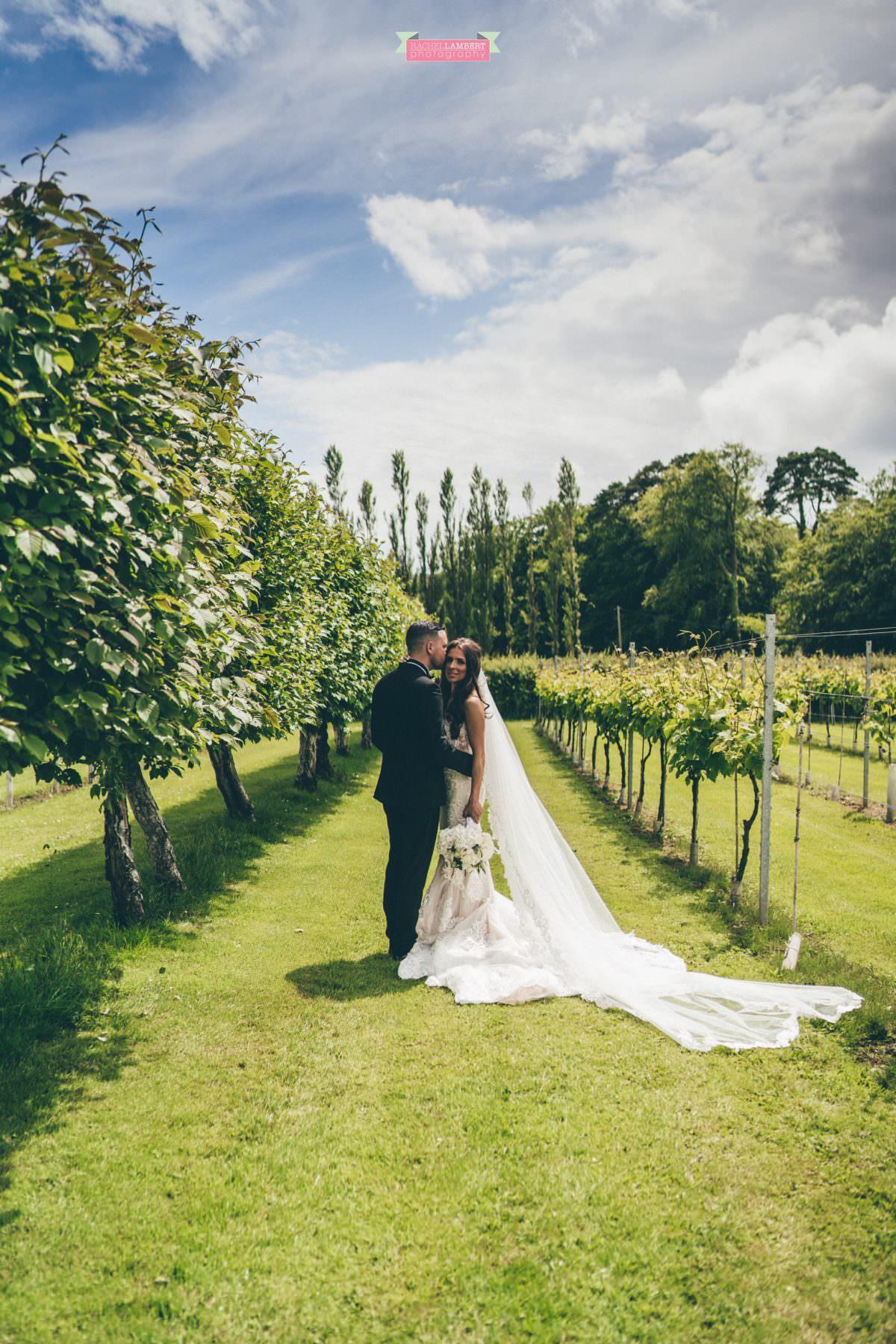 Cardiff Wedding Photographer Llanerch Vineyard rachel lambert photography bride and groom couple shots