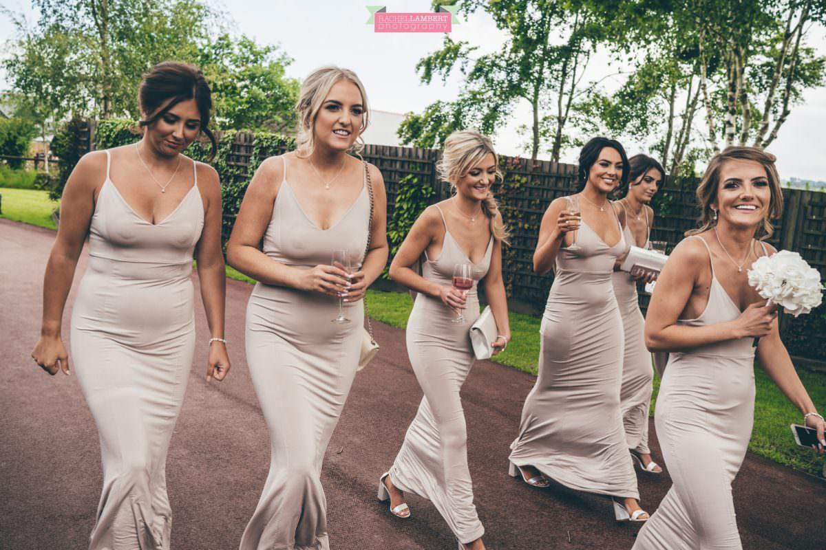 Cardiff Wedding Photographer Llanerch Vineyard rachel lambert photography bridesmaids