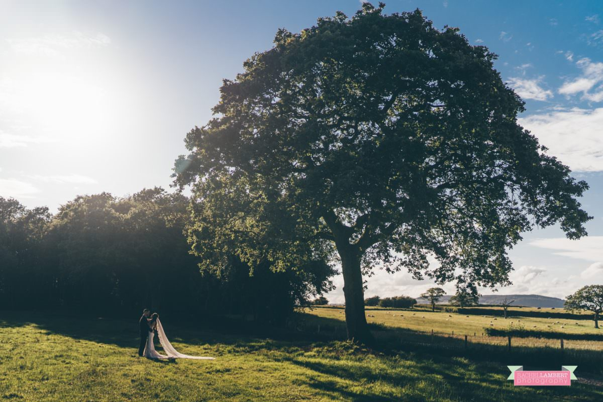 Cardiff Wedding Photographer Llanerch Vineyard rachel lambert photography couple portraits golden hour sunset