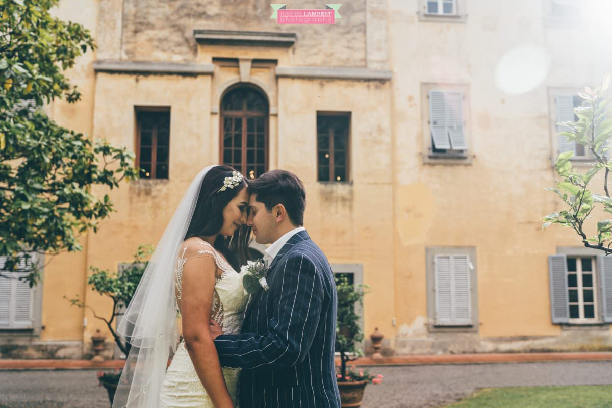 destination weddings photographers in italy pisa villa lungomonte couple shots bride and groom