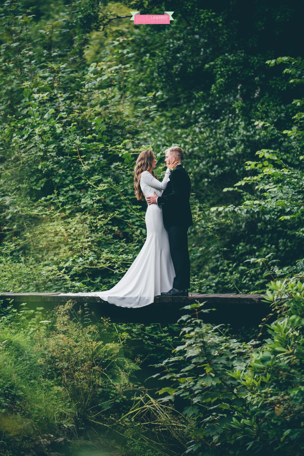 Fairyhill Gower Wedding Photographer Pronovias Bride
