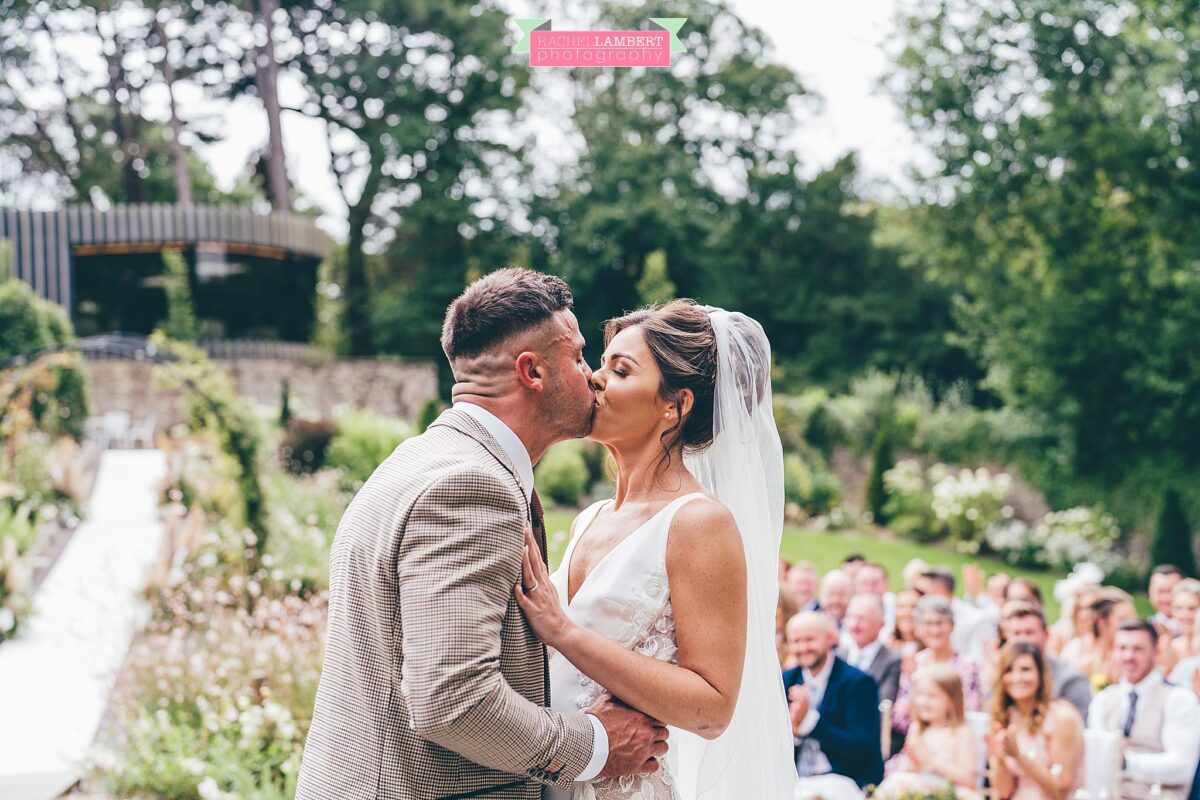 Fairyhill Weddings Walled Garden Ceremony Outdoors